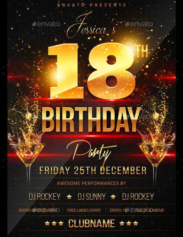 91 The Best Free Birthday Flyer Template Word in Word by Free Birthday Flyer Template Word