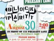92 Adding Block Party Template Flyer Photo with Block Party Template Flyer
