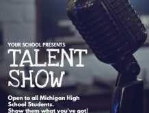 92 Adding School Talent Show Flyer Template Layouts with School Talent Show Flyer Template