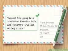 Postcard Format Uk