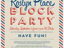 92 Blank Block Party Template Flyer Formating for Block Party Template Flyer