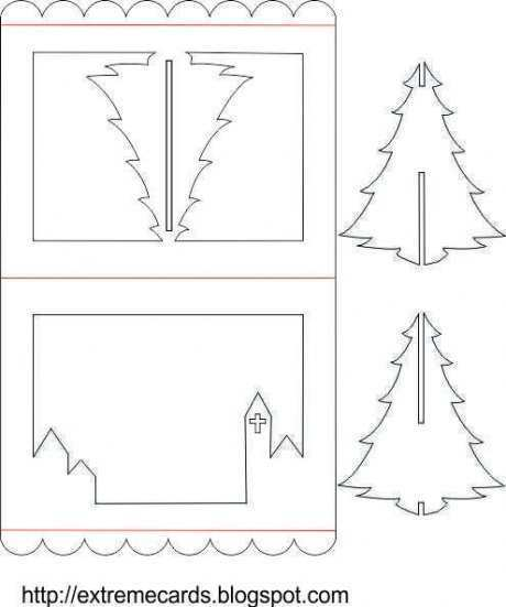 92 Blank Christmas Card Craft Templates for Ms Word by Christmas Card Craft Templates