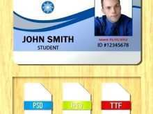 Student Id Card Word Template Free Download