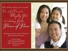 92 Christmas Card Template Christian Formating by Christmas Card Template Christian