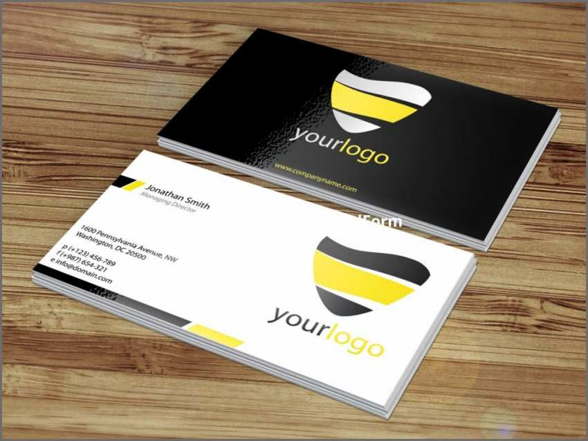 92 Create 2 Sided Business Card Template Word For Free for 2 Sided Business Card Template Word
