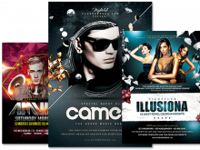 92 Create Club Flyer Design Templates Free Layouts for Club Flyer Design Templates Free