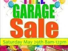 92 Create Garage Sale Flyer Template Now for Garage Sale Flyer Template