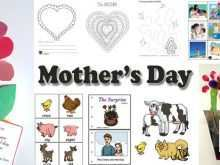 92 Create Mother S Day Card Templates Kindergarten For Free for Mother S Day Card Templates Kindergarten