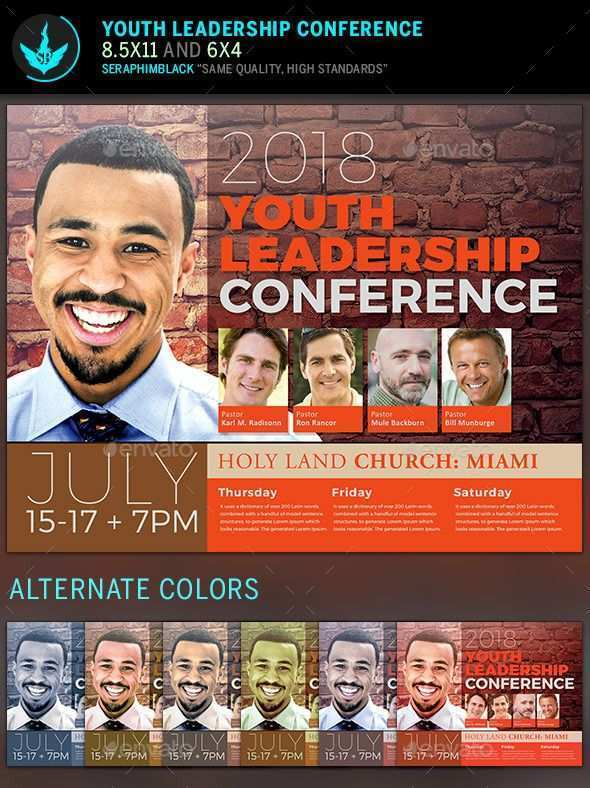 92 Creating Church Conference Flyer Template in Word with Church Conference Flyer Template