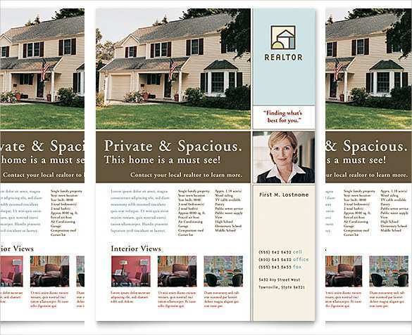 92 Creating Commercial Real Estate Flyer Template Now for Commercial Real Estate Flyer Template