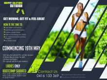 92 Creating Fitness Boot Camp Flyer Template Now by Fitness Boot Camp Flyer Template