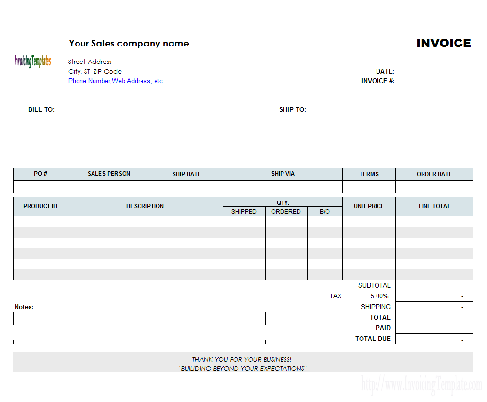 92 Creating Landscape Invoice Template Free With Landscape Invoice Template Free Cards Design Templates