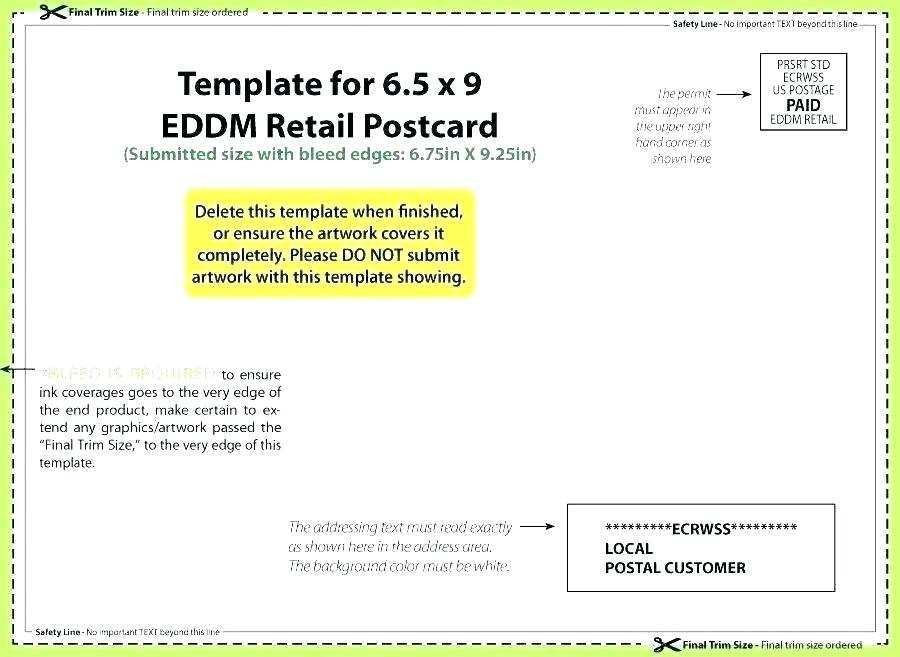 92 Customize 4X6 Postcard Template Usps Download with 4X6 Postcard Template Usps