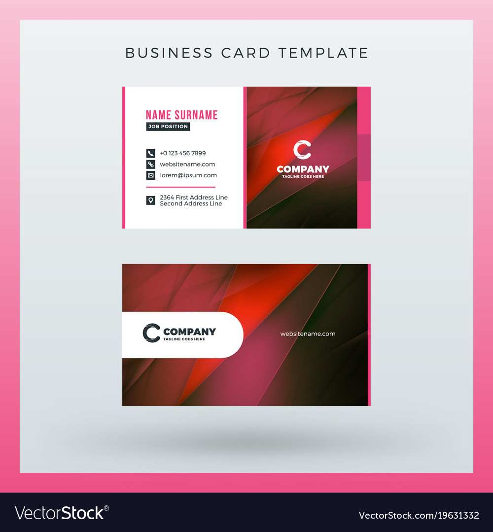 92 Customize Our Free Business Card Template Horizontal Formating with Business Card Template Horizontal