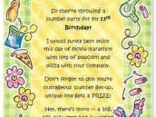 92 Customize Our Free Invitation Card Format Of Birthday in Word by Invitation Card Format Of Birthday