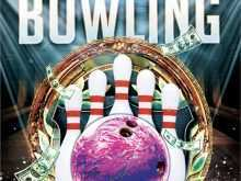 92 Free Bowling Flyer Template Free Maker with Bowling Flyer Template Free