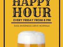92 Free Happy Hour Flyer Template Free Download for Happy Hour Flyer Template Free