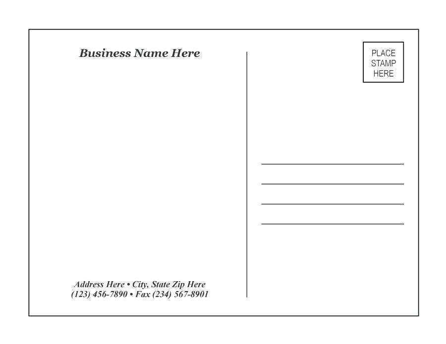 92 Free Printable 4X6 Postcard Template Indesign Now for 4X6 Postcard Template Indesign