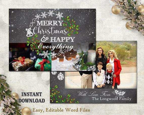 92 Free Printable Christmas Greeting Card Template Word for Ms Word by Christmas Greeting Card Template Word