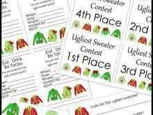 92 Online Christmas Sweater Card Template Download with Christmas Sweater Card Template