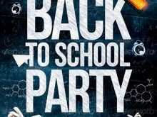 92 Printable Back To School Party Flyer Template Free Download with Back To School Party Flyer Template Free Download
