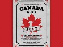 92 Printable Canada Day Flyer Template For Free by Canada Day Flyer Template