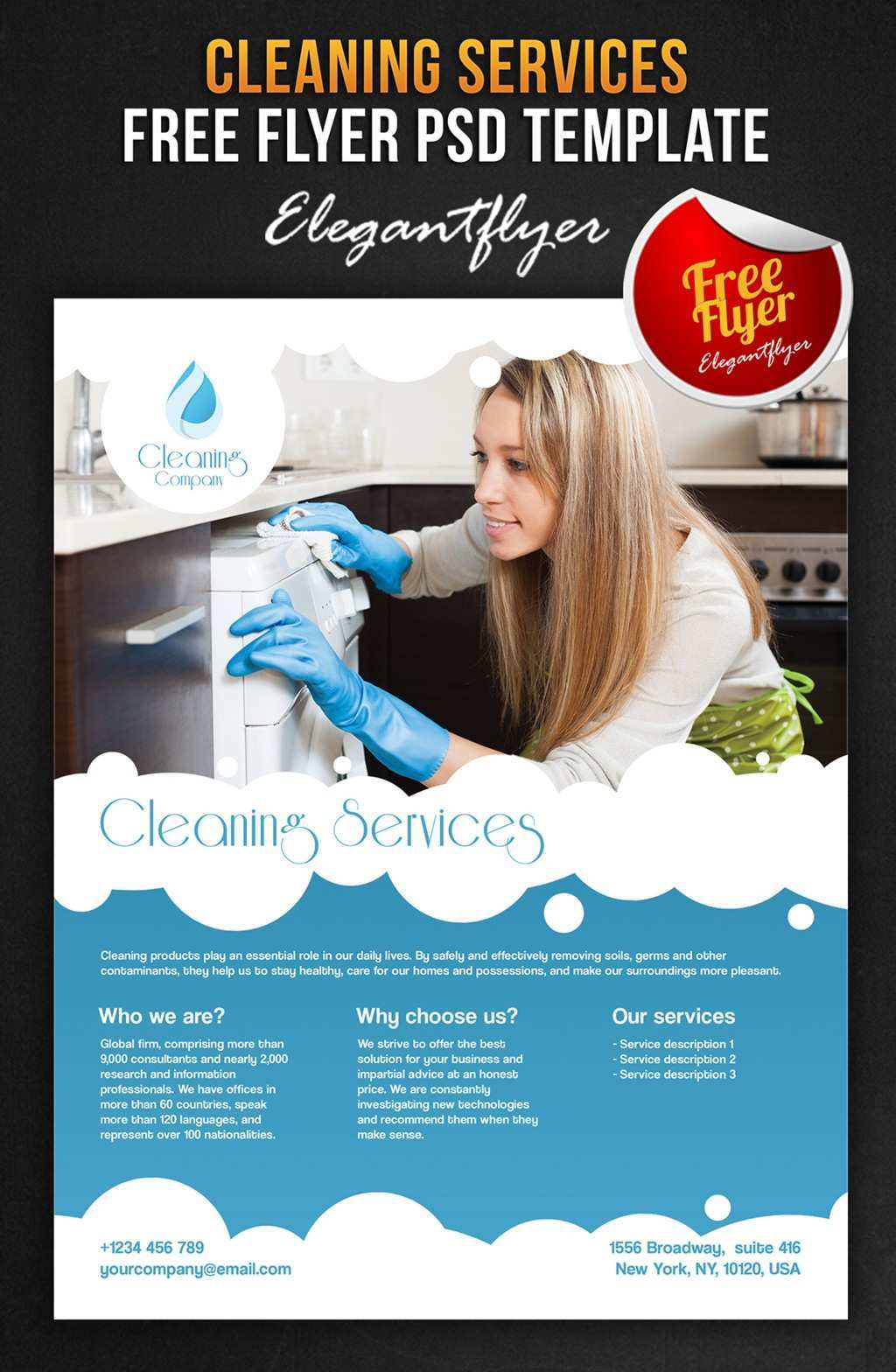 92 Report Cleaning Services Flyers Templates Maker for Cleaning Services Flyers Templates