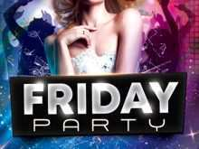92 Standard Party Flyer Free Template Photo with Party Flyer Free Template