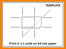 92 Standard Sim Card Cut Template Print for Ms Word by Sim Card Cut Template Print