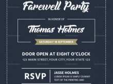 92 The Best Farewell Flyer Template for Ms Word with Farewell Flyer Template