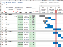 92 The Best Simple Production Schedule Template in Word with Simple Production Schedule Template