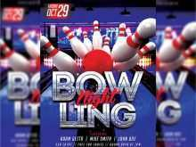 93 Adding Bowling Event Flyer Template Formating with Bowling Event Flyer Template