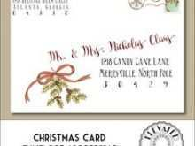 93 Best Christmas Card Envelopes Templates Templates for Christmas Card Envelopes Templates