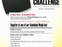 93 Blank Biggest Loser Flyer Template Formating for Biggest Loser Flyer Template