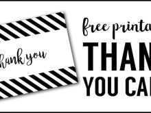 Thank You Card Template To Colour