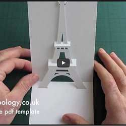 93 Create Pop Up Eiffel Tower Card Tutorial Origamic Architecture Maker with Pop Up Eiffel Tower Card Tutorial Origamic Architecture