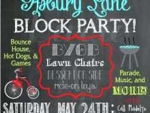 93 Creating Block Party Template Flyer With Stunning Design for Block Party Template Flyer
