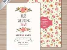 Wedding Card Greetings Template