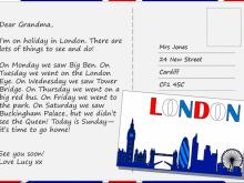 93 Creative Postcard Template Esl PSD File by Postcard Template Esl