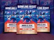 93 Customize Our Free Bowling Night Flyer Template in Photoshop with Bowling Night Flyer Template