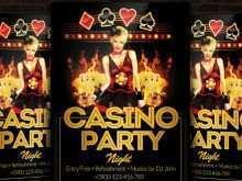 93 Format Casino Night Flyer Blank Template PSD File by Casino Night Flyer Blank Template