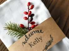 93 Format Holiday Name Card Templates in Photoshop by Holiday Name Card Templates