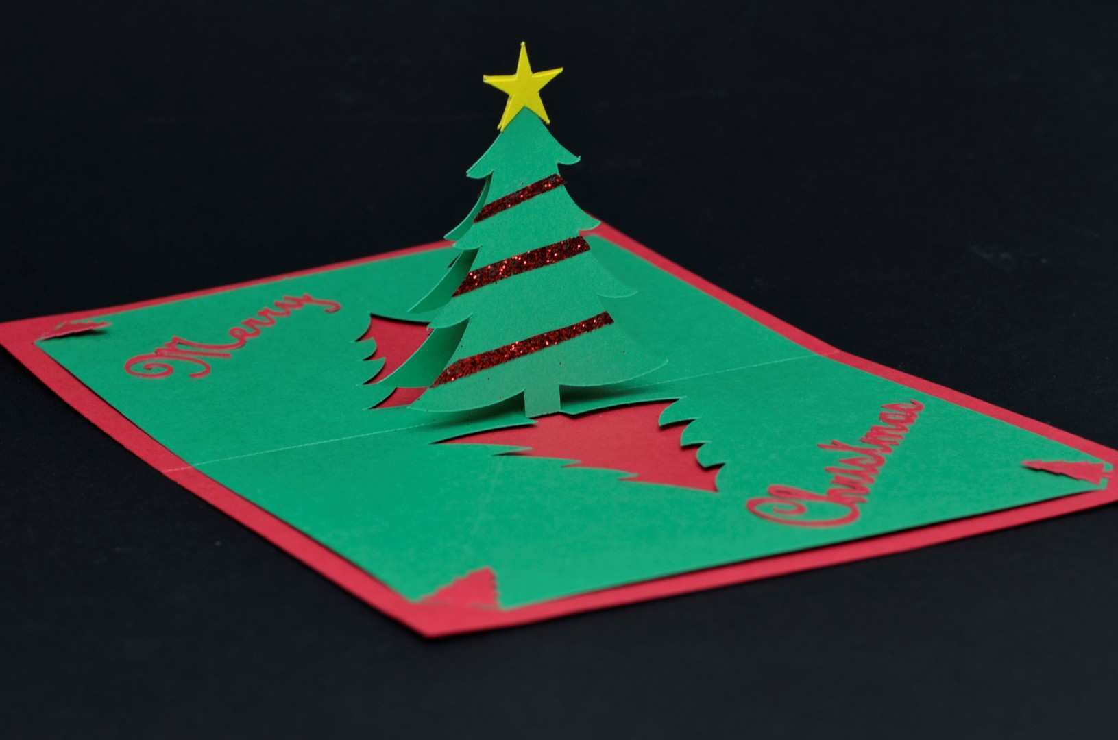93 Format Pop Up Card Templates Christmas Tree Templates for Pop Up Card Templates Christmas Tree