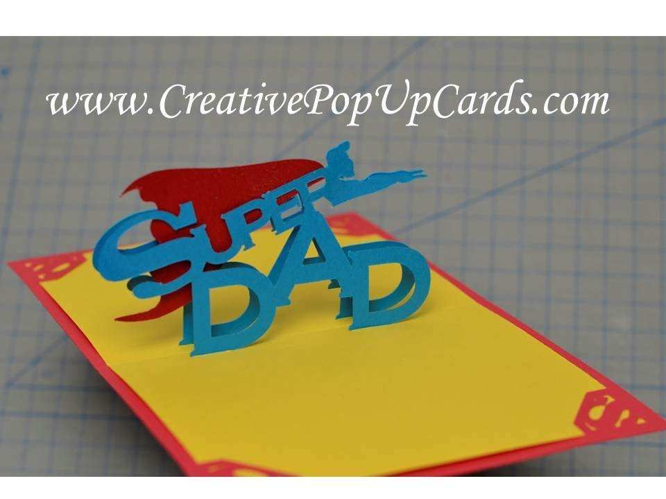 93 Format Pop Up Card Templates For Father S Day PSD File with Pop Up Card Templates For Father S Day