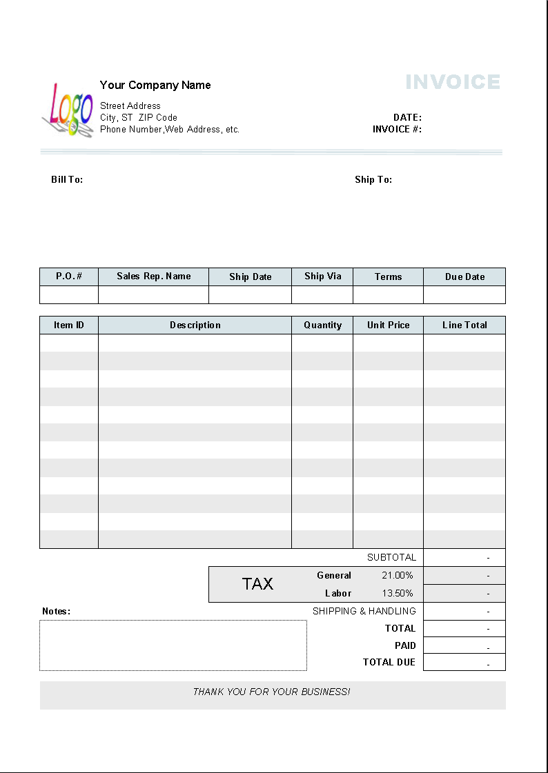 93 Free Printable Tax Invoice Template For Mac For Ms Word With Tax Invoice Template For Mac Cards Design Templates