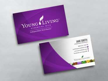 93 Free Young Living Business Card