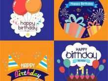 Free Birthday Card Template Svg
