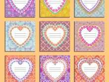 93 Printable Heart Card Templates Vector Now by Heart Card Templates Vector