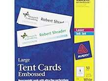 93 Report Avery Tent Card Template Large in Photoshop for Avery Tent Card Template Large