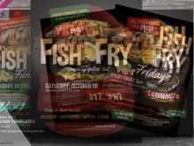 Fish Fry Flyer Template Free